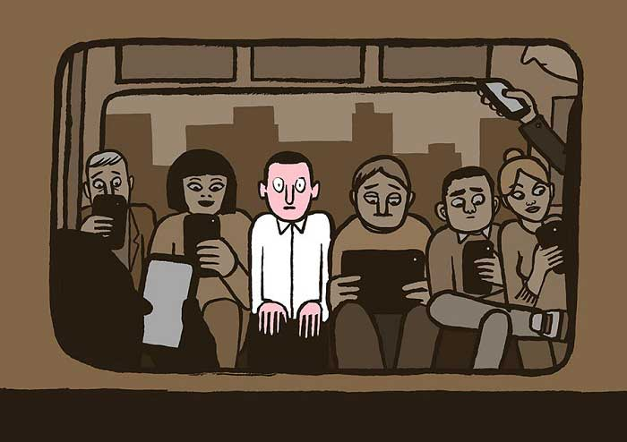 Technology is making us antisocial